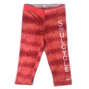 Nike Dri fit combat compression leggings tie dye